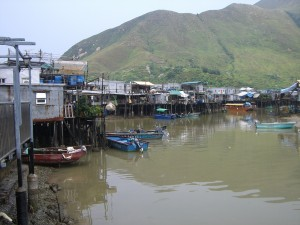 'Venice in Hong Kong'  -- Tai-O floating houses
